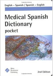 Medical Spanish Dictionary Photo