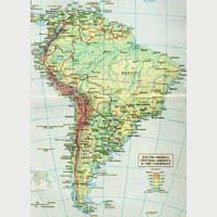 Agricultural Zones of South America